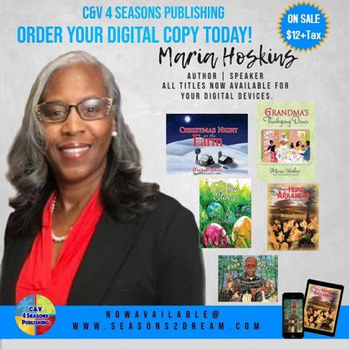 Author Maria Hoskins' Books Available for Digital Platforms