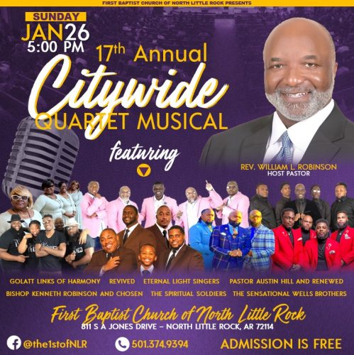 First Baptist Church 17th Annual Citywide Quartet Musical