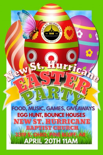 New St. Hurricane MBC Easter Party 2019