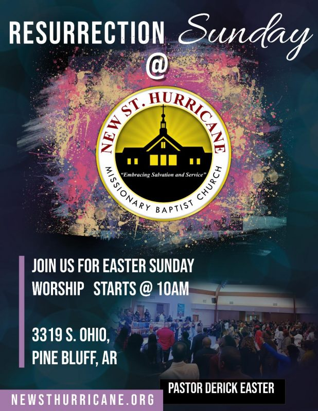 New St. Hurricane MBC Easter Service 2019