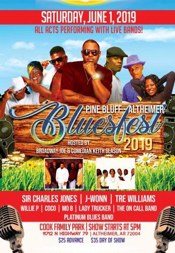 Pine Bluff Altheimer Blues Fest 2019