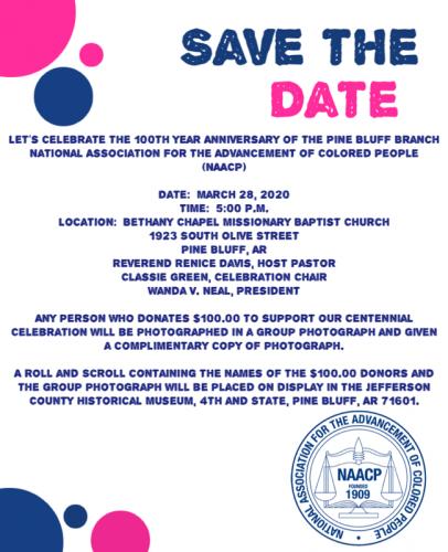 Pine Bluff Branch NAACP 100th Anniversary