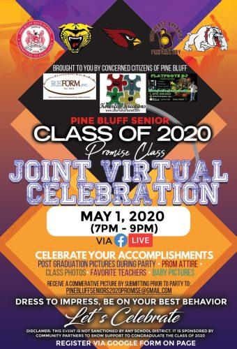 Pine Bluff Senior Class of 2020 Joint Virtual Celebration