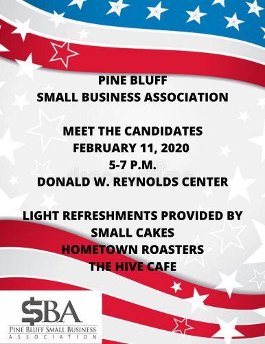 Pine Bluff Small Business Association Hosts Meet the Candidates