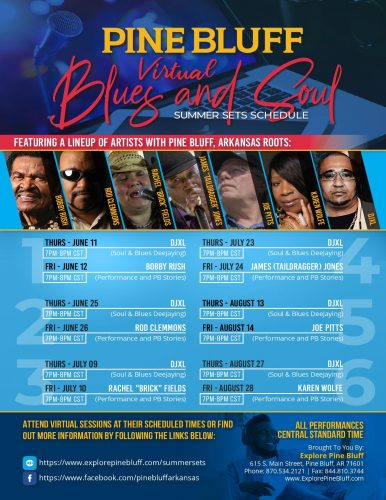 Pine Bluff Virtual Blues and Soul Summer Sessions