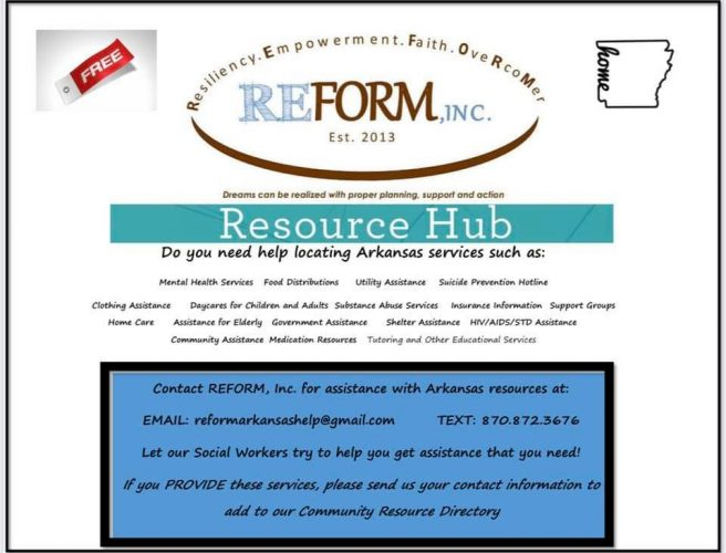 Resources Provided by REFORM Inc.