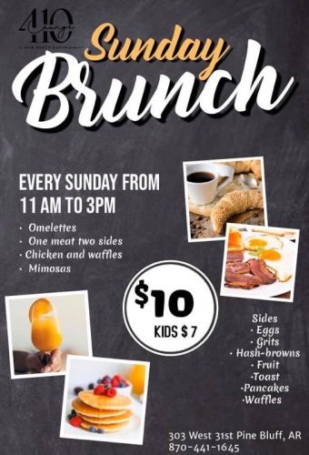 Sunday Brunch at 410 Lounge