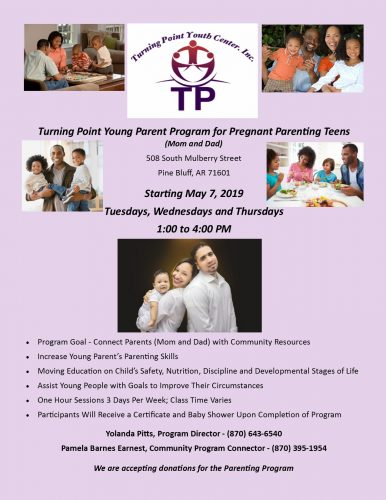 Turning Point Youth Center Young Parent Program